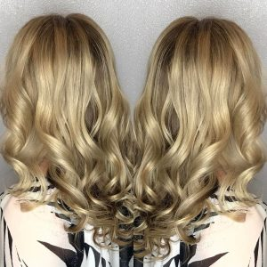 Vamp Salon Golden Blonde Hair by Erika Creston Vamp Salon LLC