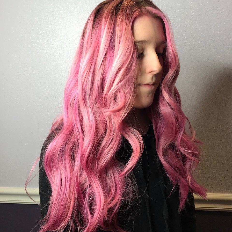 Vamp Salon Pink Hair Vamp Salon LLC
