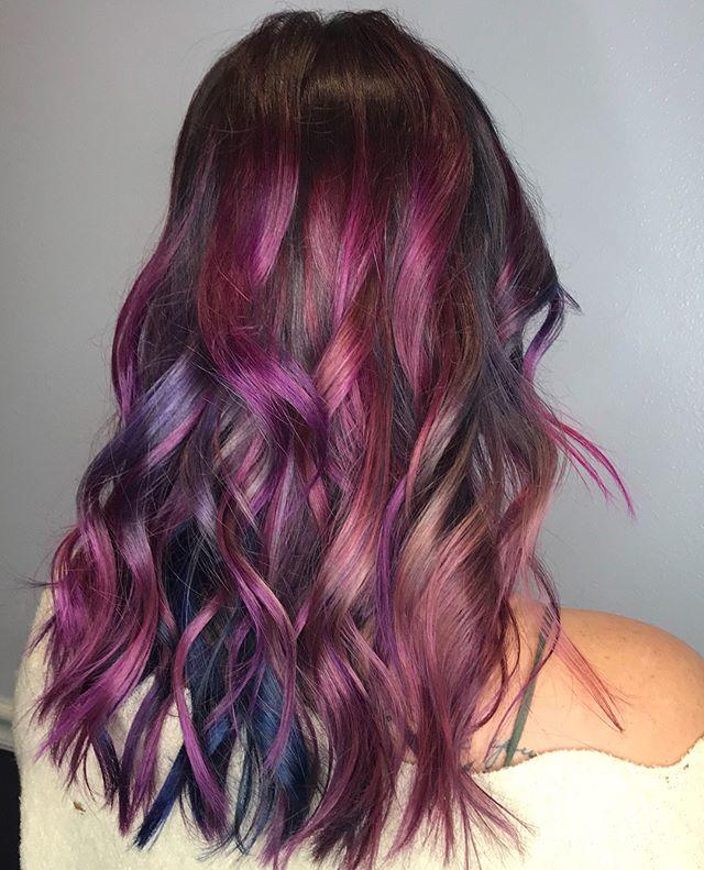 Hair Color Ideas Magenta Pertaining To How I Dyed My
