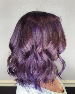 Vamp Salon Violet Purple Rhapsody hair color