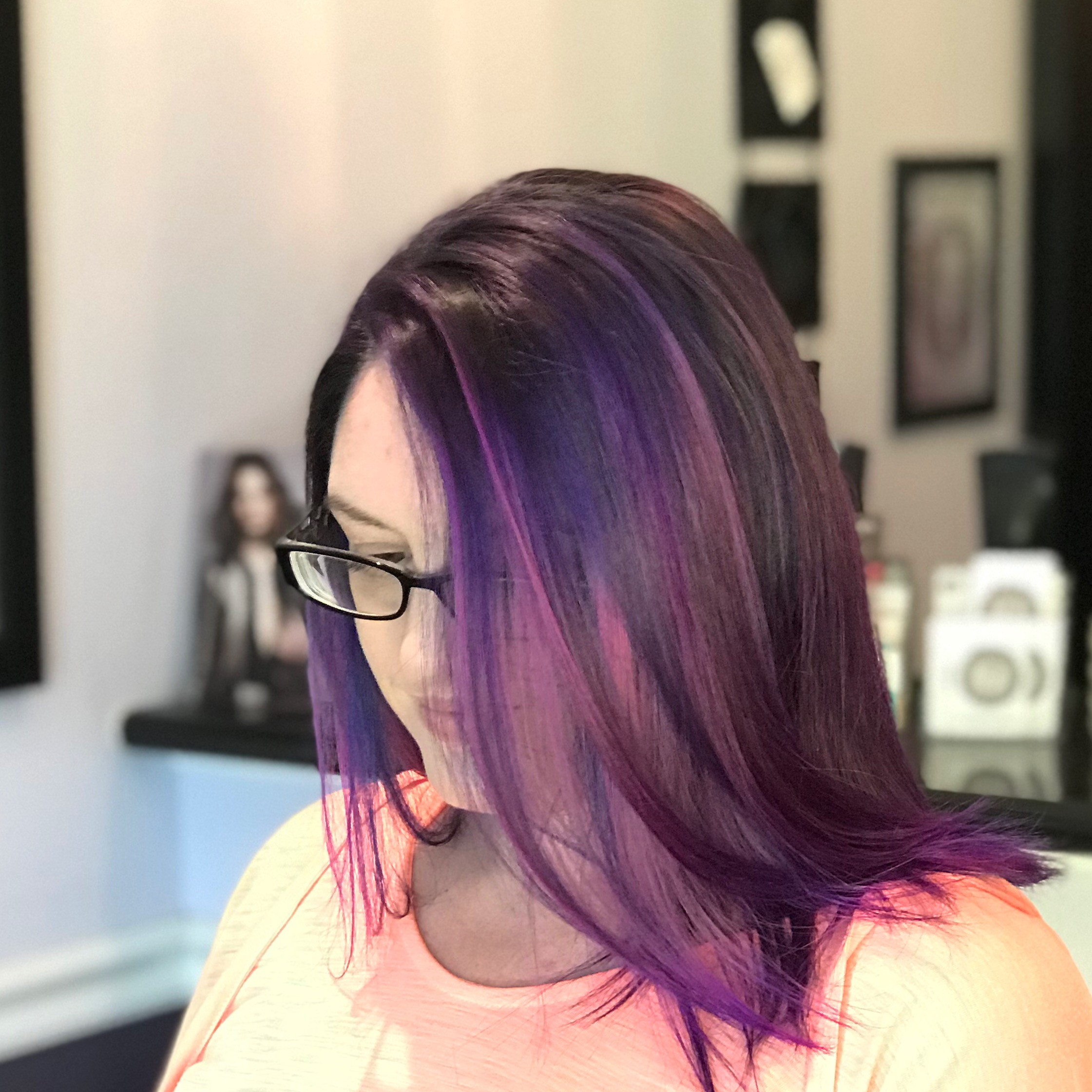 Purple Hair - Vamp Salon LLC